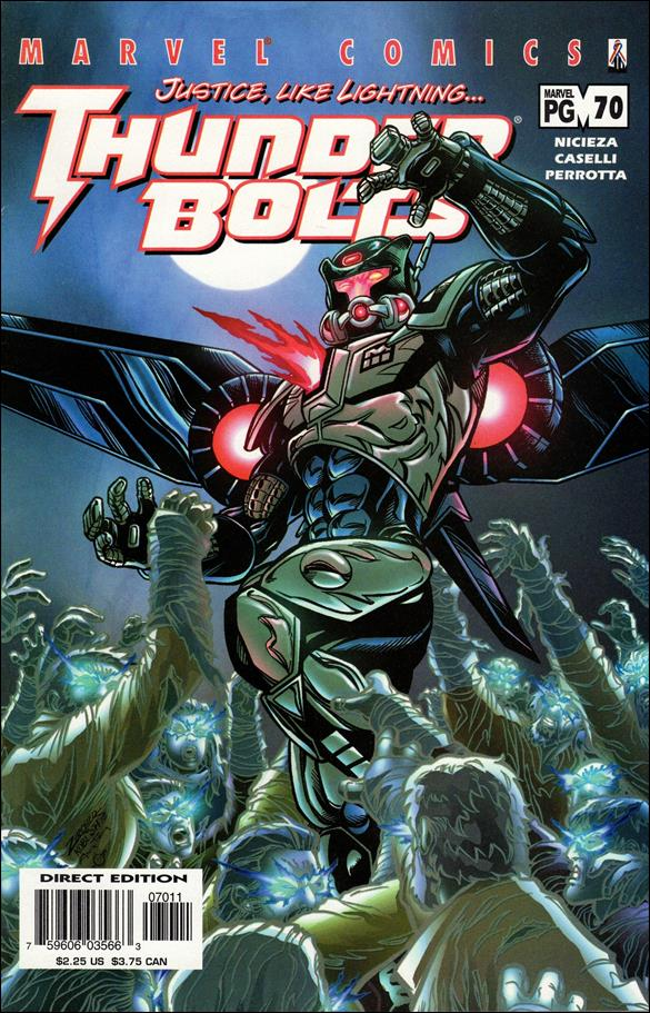 Thunderbolts (1997) 70-A by Marvel