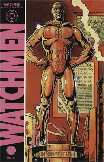 Watchmen 8-A by DC