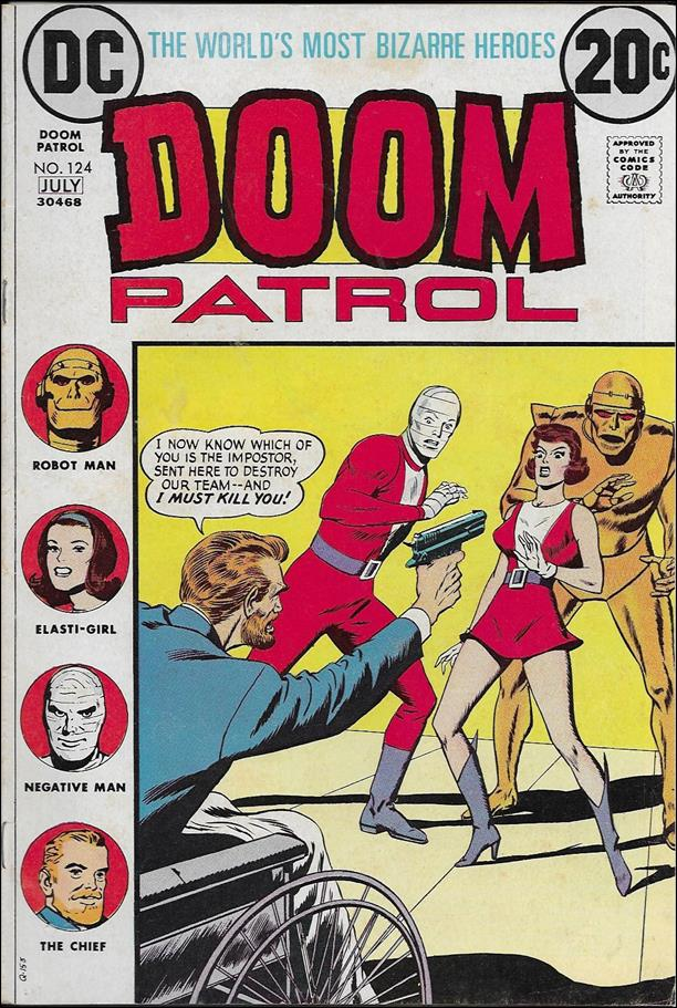 Doom Patrol (1964) 124-A by DC