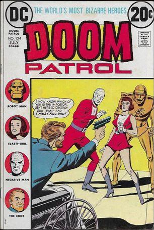 Doom Patrol (1964) 124-A