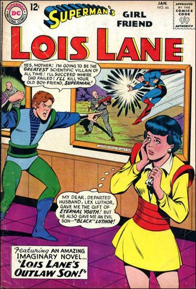 Superman's Girl Friend Lois Lane 46-A by DC