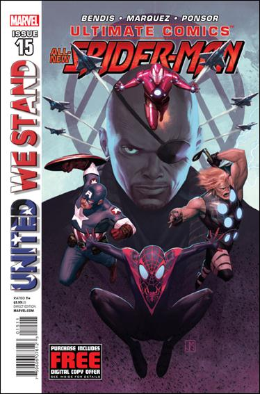 Ultimate Comics Spider-Man 15-A by Marvel