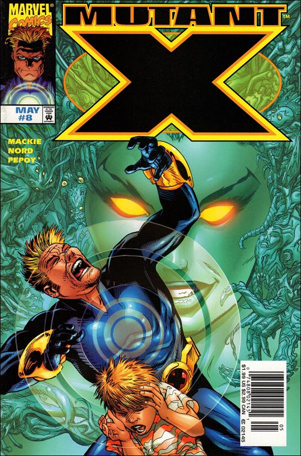 Mutant X 8-A by Marvel