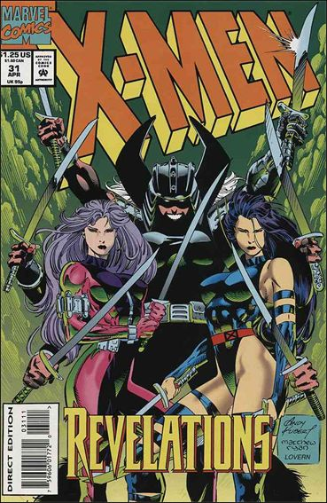 X-Men (1991) 31-A by Marvel