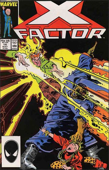 X-Factor (1986) 16-A by Marvel