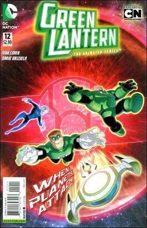 Green Lantern: The Animated Series 12-A by DC