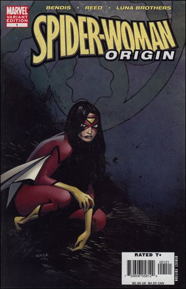 Spider-Woman: Origin 1-B by Marvel
