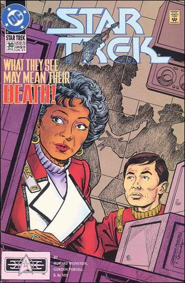 Star Trek (1989) 30-A by DC