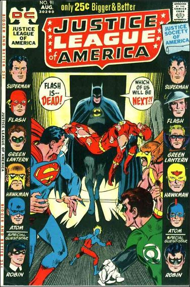 Justice League of America (1960) 91-A by DC