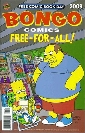Bongo Comics Free-For-All! 2009-A