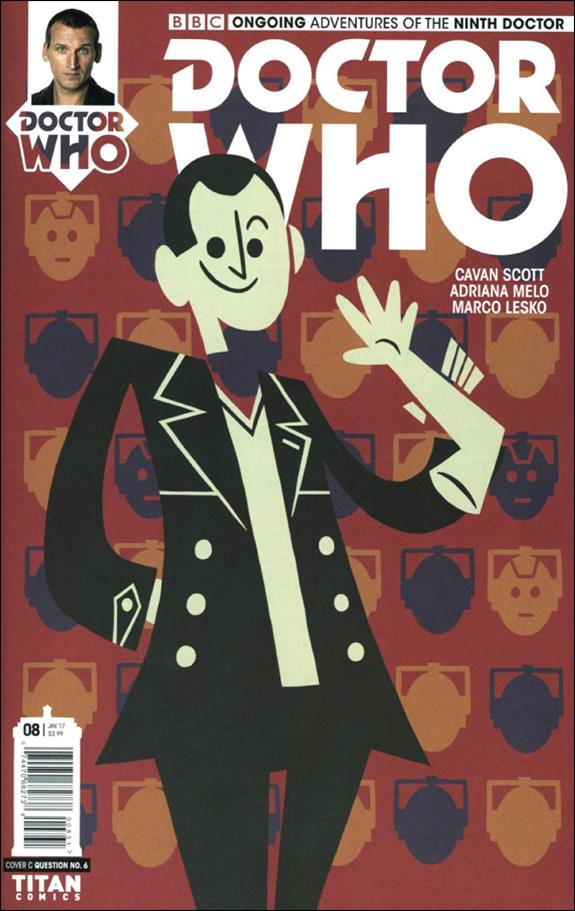 Doctor Who: The Ninth Doctor (2016) 8-C by Titan