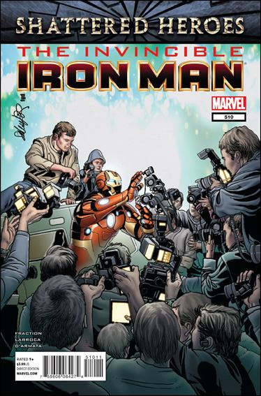 Invincible Iron Man (2008) 510-A by Marvel