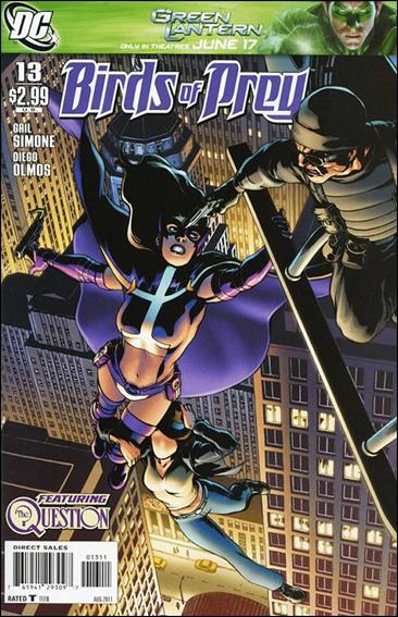 Birds of Prey (2010) 13-A by DC
