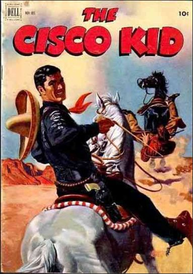 Cisco Kid (1951) 12-A by Dell