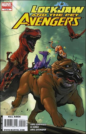 Lockjaw and the Pet Avengers 2-A by Marvel