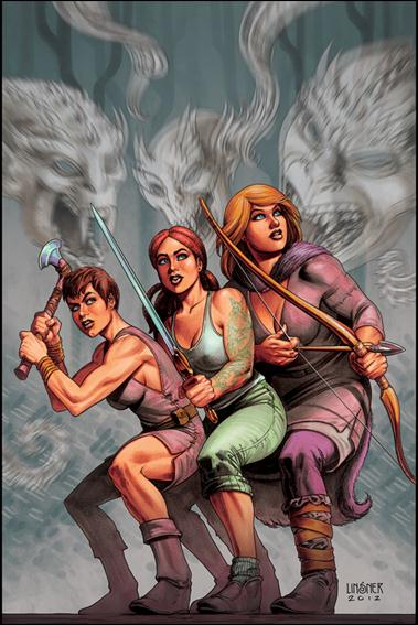 Damsels 6-B by Dynamite Entertainment