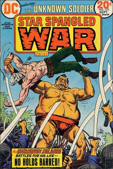 Star Spangled War Stories (1952) 173-A by DC