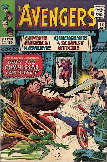 Avengers (1963) 18-A by Marvel