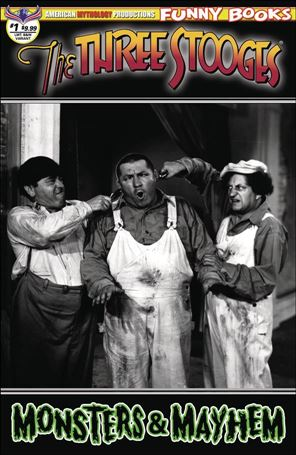 Three Stooges Monsters & Mayhem 1-C