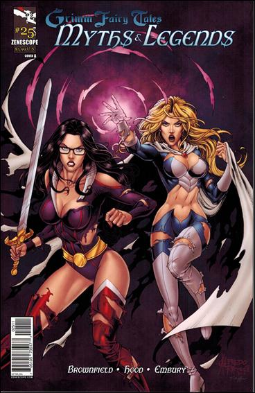 Grimm Fairy Tales Myths & Legends 25-A by Zenescope Entertainment
