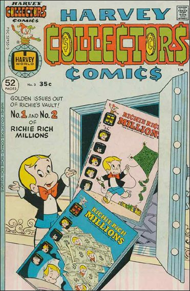 Harvey Collectors Comics 3-A by Harvey