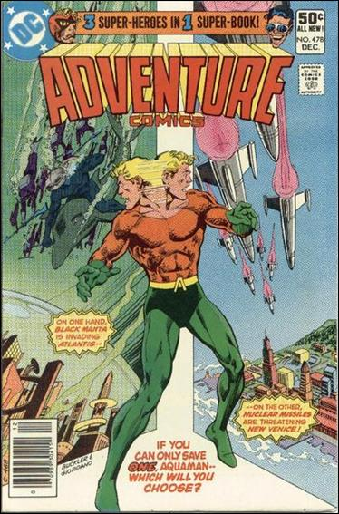 Adventure Comics (1938) 478-A by DC