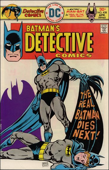 Detective Comics (1937) 458-A by DC