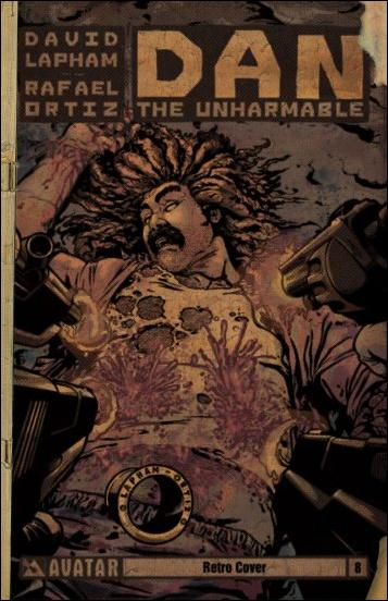 Dan the Unharmable 8-C by Avatar Press