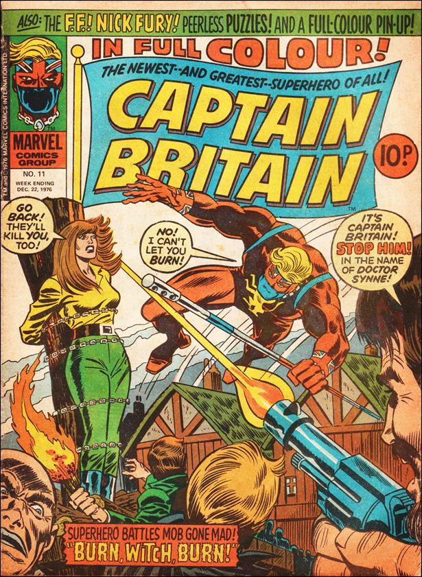 Captain Britain (UK) (1976) 11-A by Marvel UK