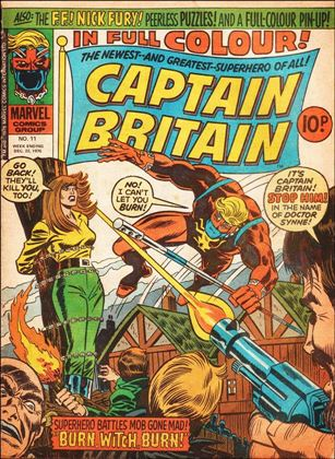 Captain Britain (UK) (1976) 11-A