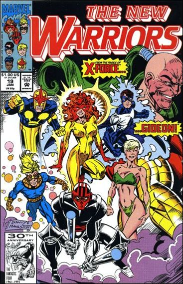 New Warriors (1990) 19-A by Marvel