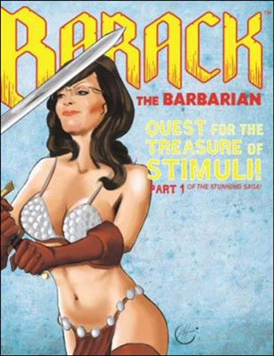 Barack the Barbarian: Quest for the Treasure of Stimuli  1-D