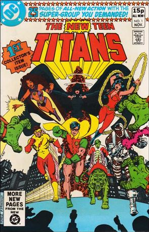 New Teen Titans (1980) 1-B