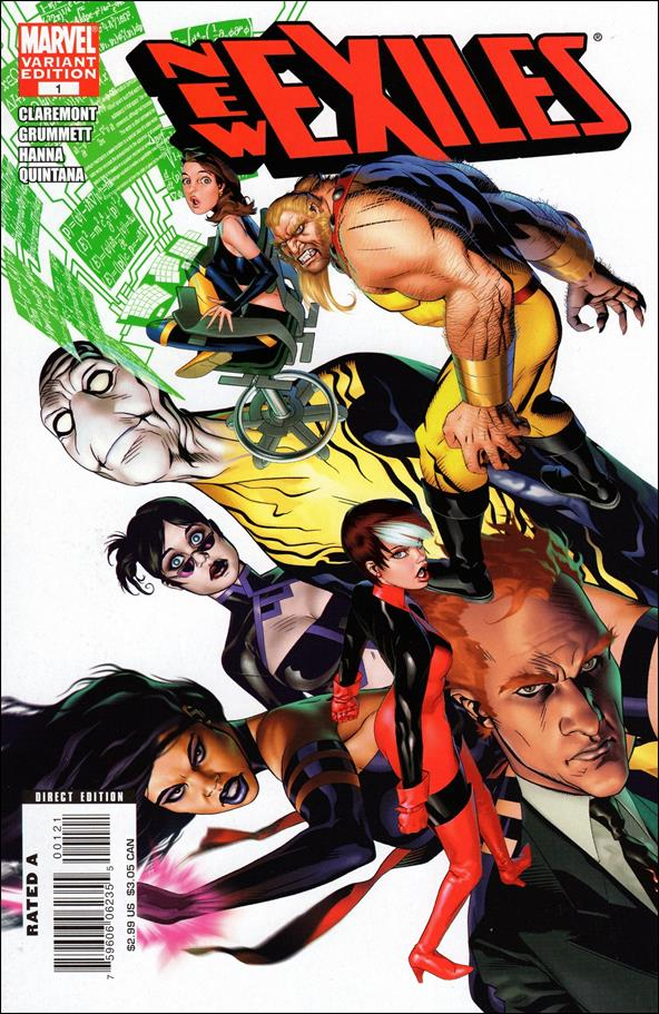 New Exiles 1-B by Marvel