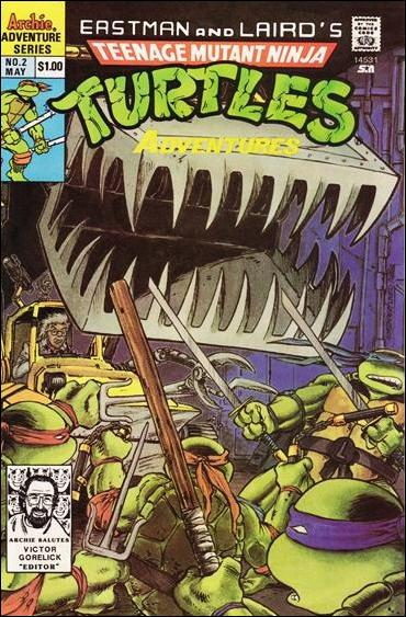 Teenage Mutant Ninja Turtles Adventures (1989) 2-D by Archie