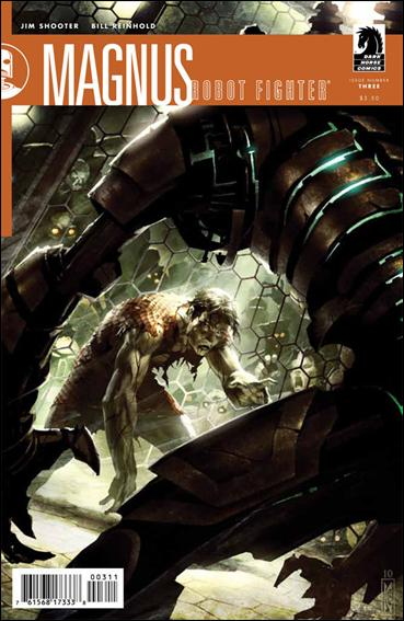 Magnus, Robot Fighter (2010) 3-A by Dark Horse