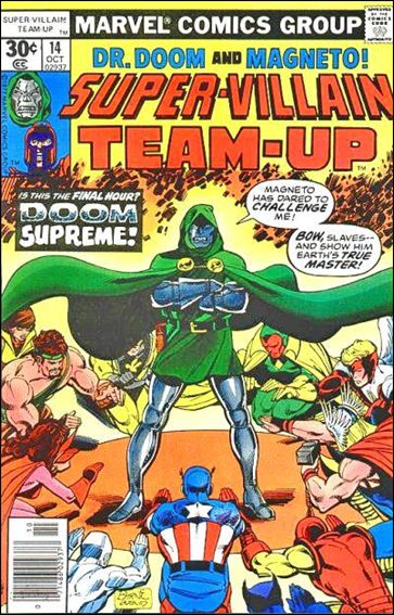 Super-Villain Team-Up 14-A by Marvel