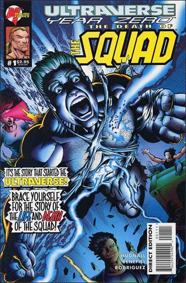 Ultraverse Year Zero: The Death of the Squad 1-A by Malibu