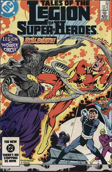 Tales of the Legion of Super-Heroes 315-A by DC