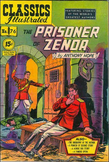 Classic Comics/Classics Illustrated 76-C by Gilberton