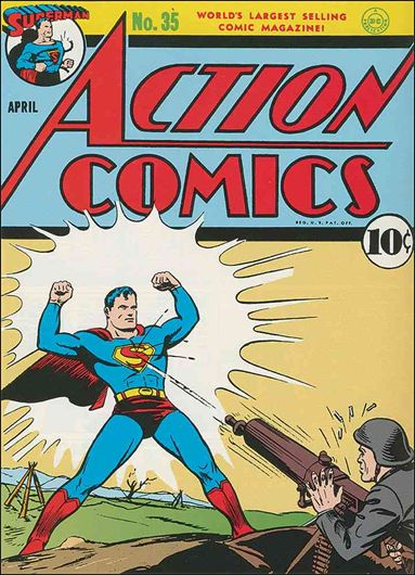 Action Comics (1938) 35-A by DC