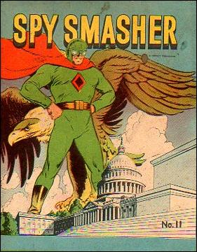 Mighty Midget Comics - Spy Smasher 11-A by Samuel E Lowe & Co