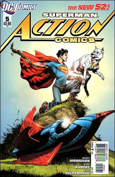 Action Comics (2011) 5-D by DC