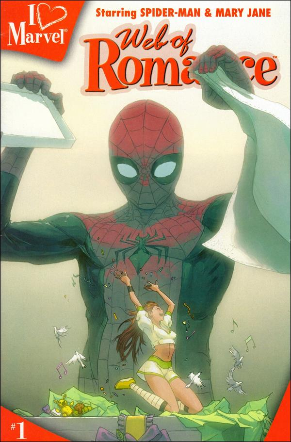 I (heart) Marvel: Web of Romance 1-A by Marvel