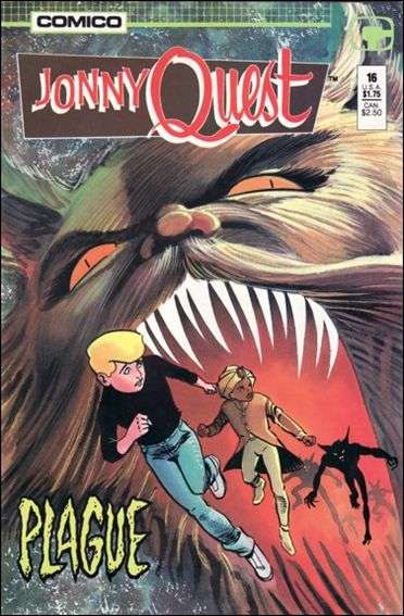 Jonny Quest (1986) 16-A by Comico