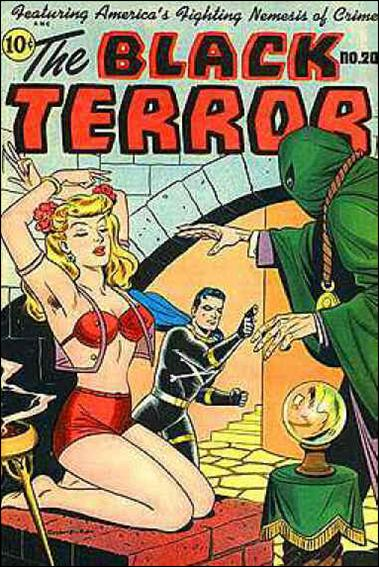 Black Terror (1942) 20-A by Nedor