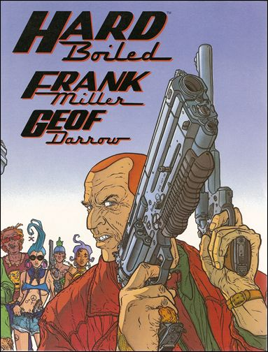 Hard Boiled 1-B by Dark Horse
