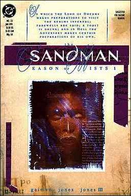 Sandman (1989) 22-A by Vertigo