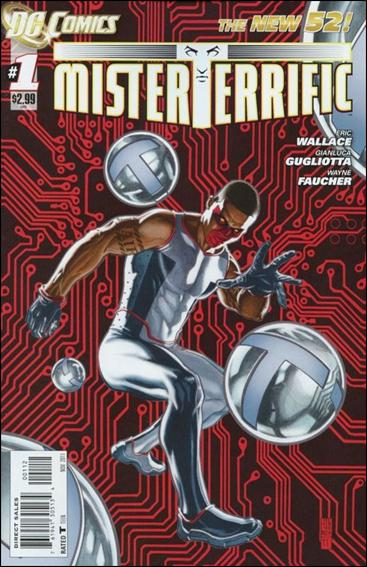 Mister Terrific 1-B by DC