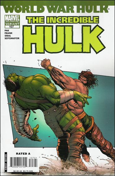 Incredible Hulk (2000)  107-B by Marvel